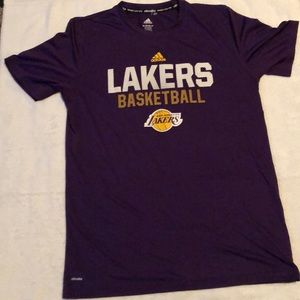 Adidas Lakers climate shirt